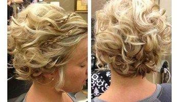 Wedding Hairstyles for Short Hair 2019 #curlshorthair