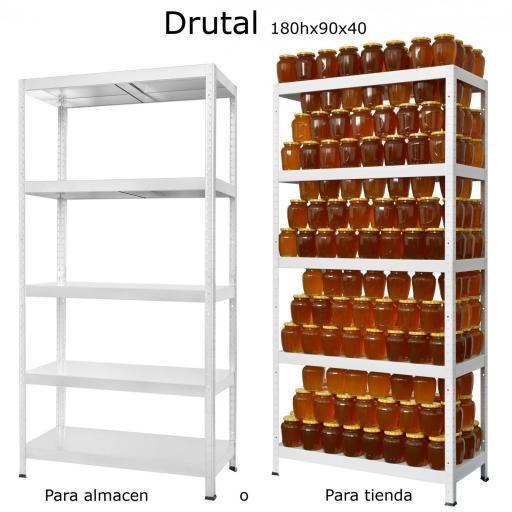Estantería metálica ko-drutal90-40