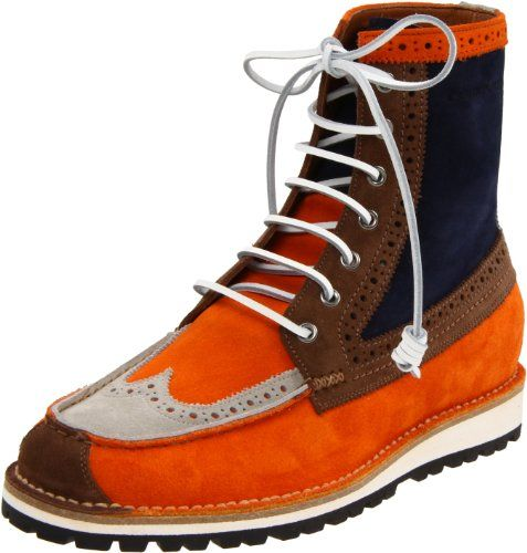 DSQUARED2 Men's Water Velour Lace-Up Boot