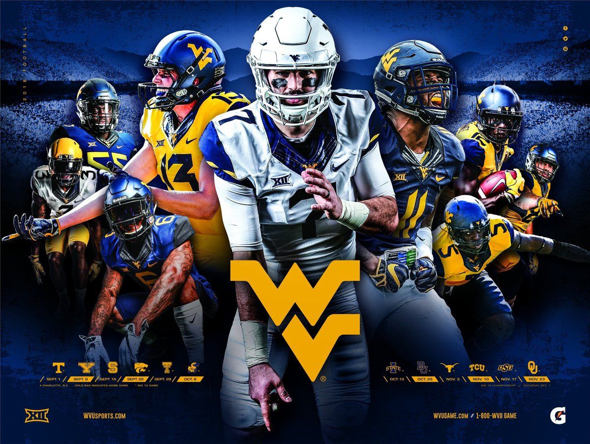 2018 Fbs Ncaa College Football Schedule Posters Sports Football