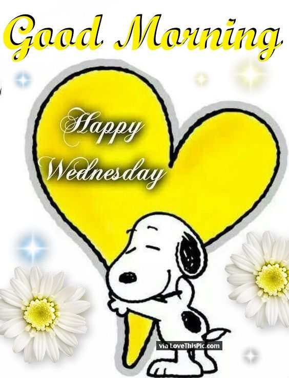 Snoopy Good Morning Happy Wednesday Quote Snoopy Good Morning