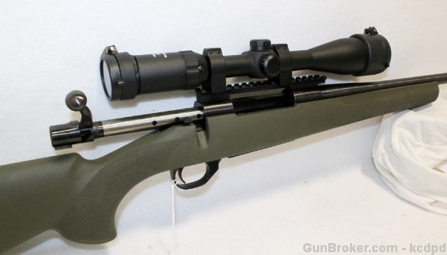 810 Howa 1500 30-06 Bolt Action Rifle with Hogue stock and