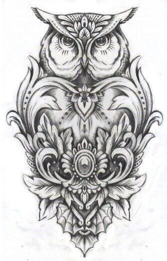 Pin By Austin Demers On Eskiz Tattoos Body Art Tattoos Owl Tattoo Design