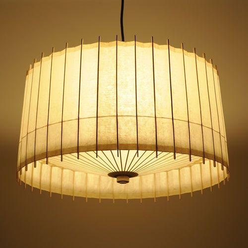 Japanese paper craft ceiling lamp