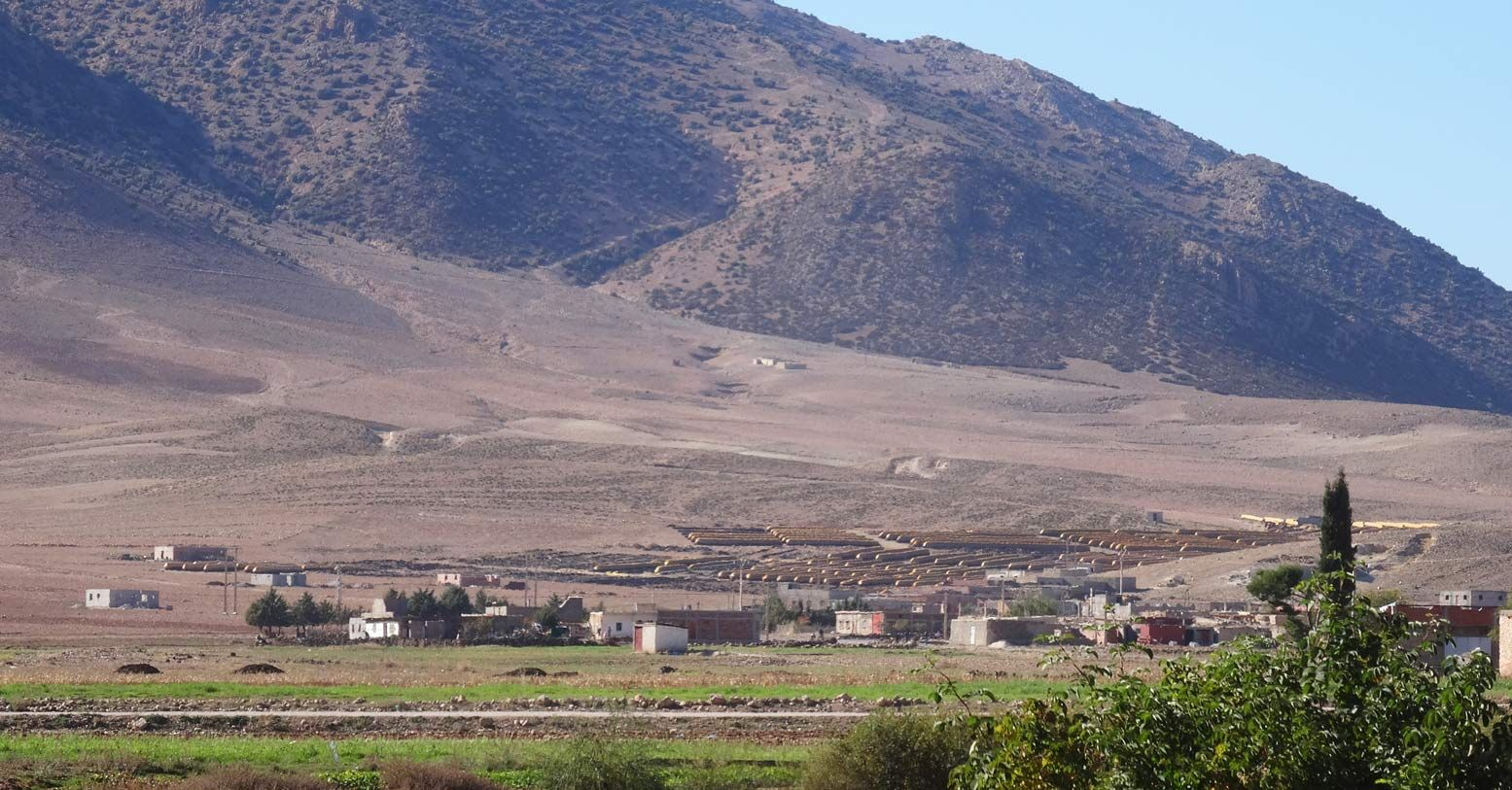 Amazing landscape in the Middle Altas of Morocco, very close to the ceder woods. One of the cooperatives I work with is settled in this very small village.