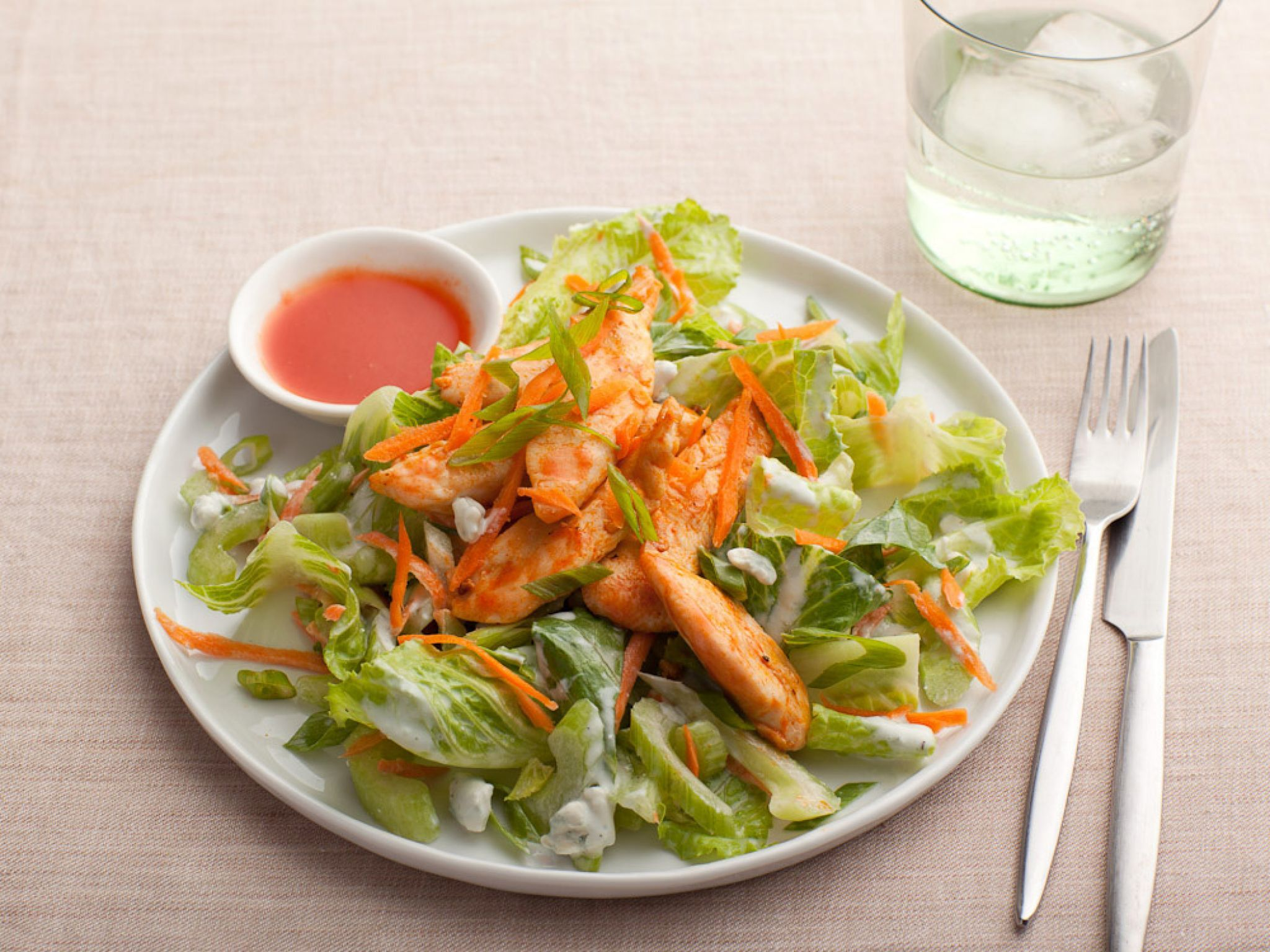 Healthy salad recipes food network buffalo chicken buffalo and healthy salad recipes food network forumfinder Gallery