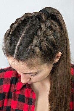 Peinados Faciles Con Cabello Recogido Para La Escuela