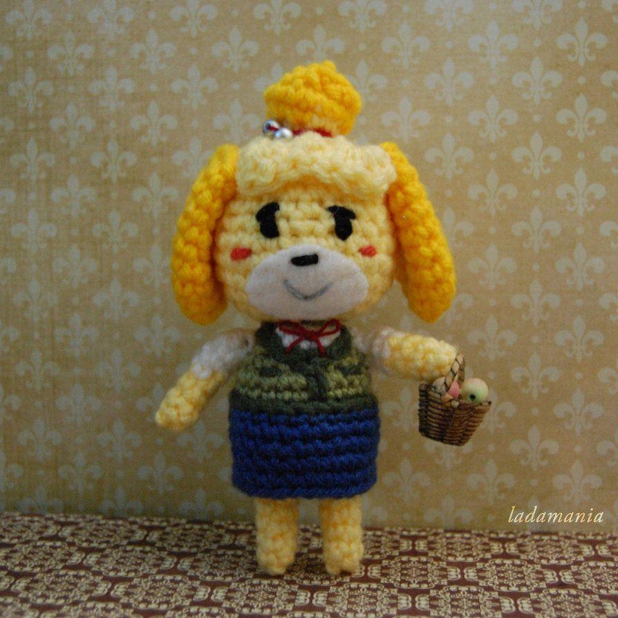 Isabel doll amigurumi crochet pattern