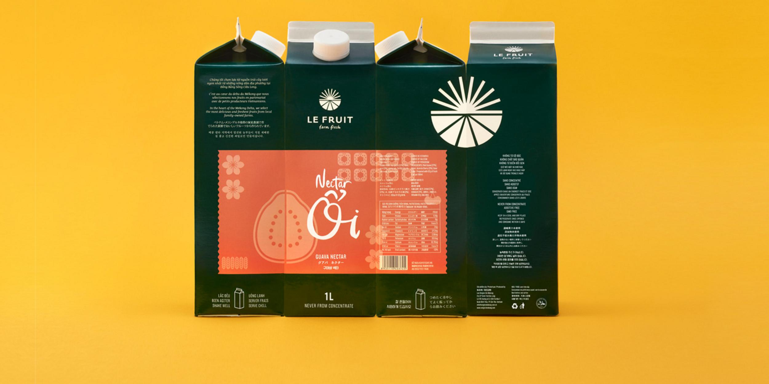 Le Fruit — The Dieline - Branding & Packaging Design