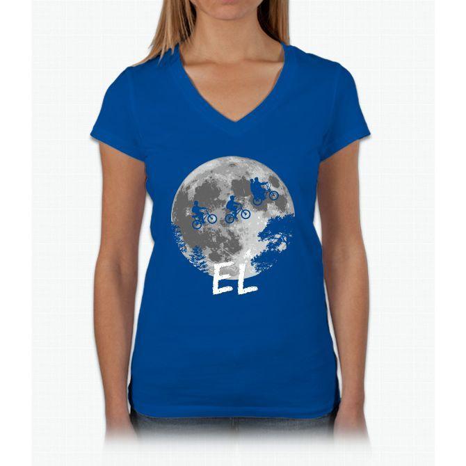El: The Stranger Thing Stranger Things Womens V-Neck T-Shirt