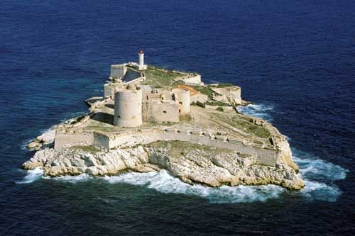 Chateau d'If, Marseilles