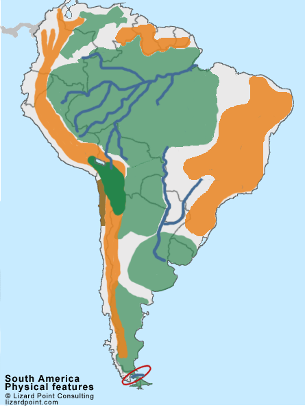 Clickable map quiz of south america physical features history clickable map quiz of south america physical features gumiabroncs Choice Image