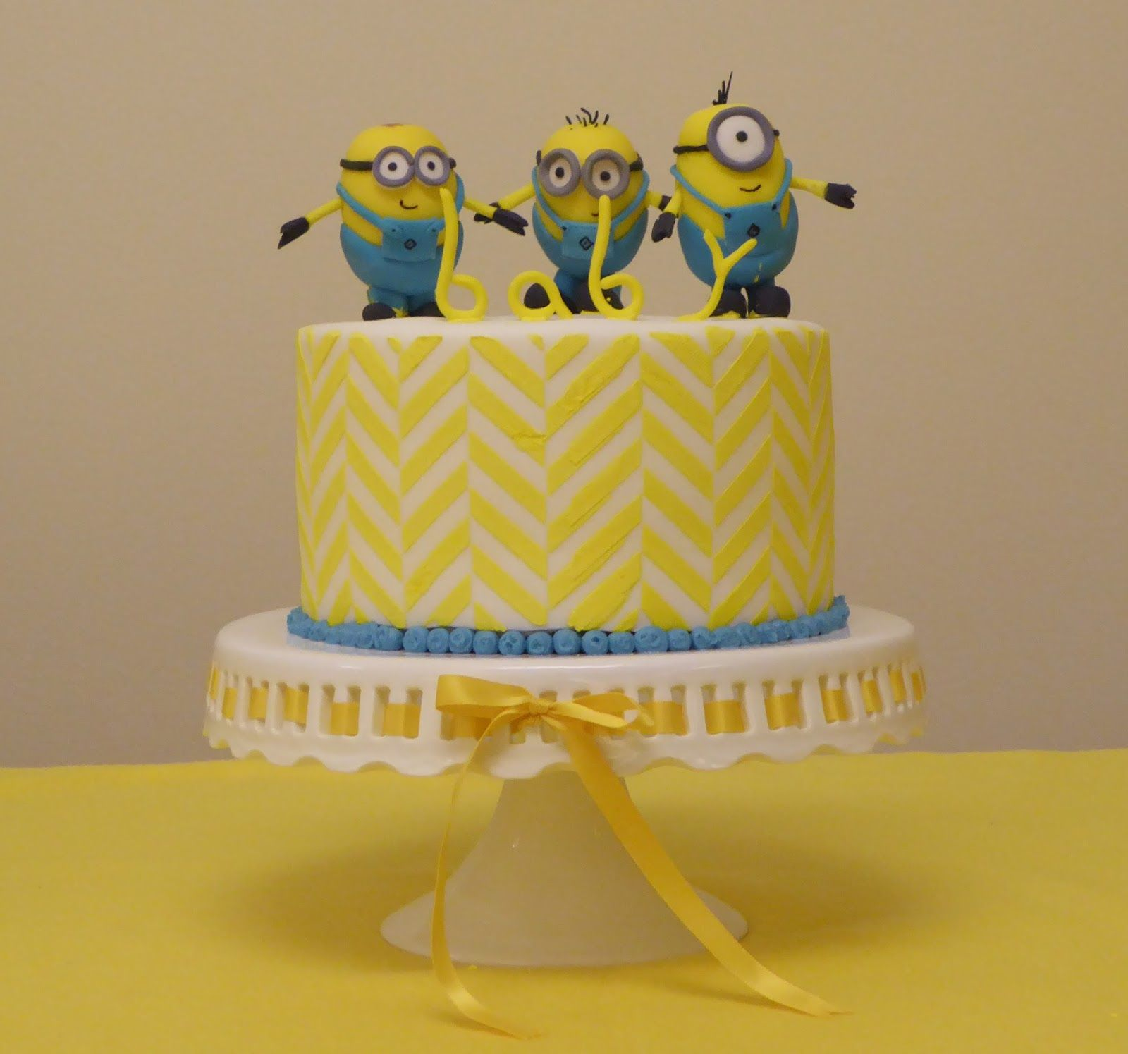 "Despicable Me Minions Baby Shower ""Wel e Baby Bert"""