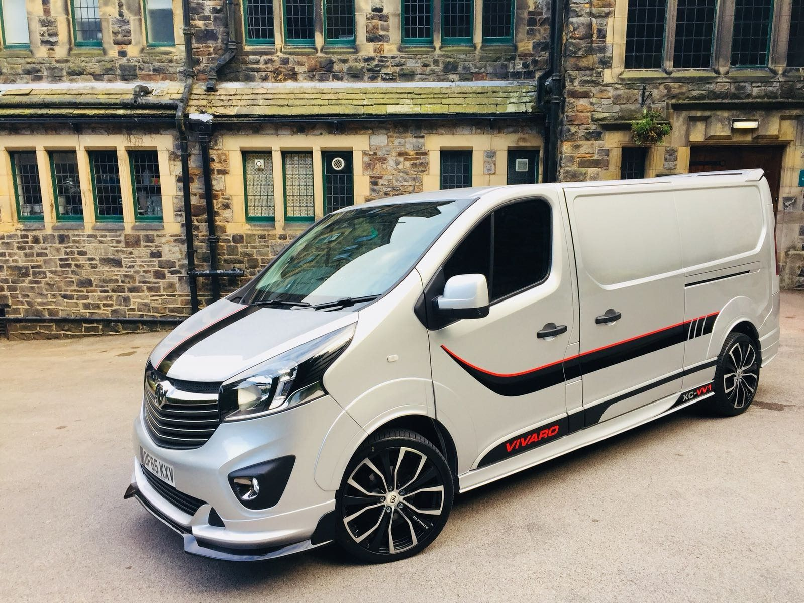 Vauxhall Vivaro Body Kit Xclusive Customz In 2020 Van Vauxhall Vauxhall Vivaro Camper