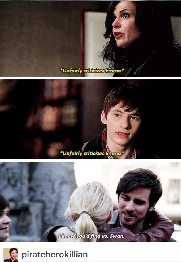 To hook, the only person that truly believes in her