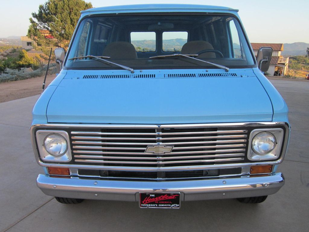 Chevrolet G20 Van Shorty | Vans - GM - | Gmc vans, Chevy van, Vans