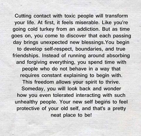 Cutting Contact With Toxic People Will Transform Your Life Mags