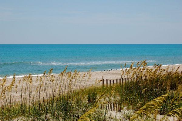 Beautiful Emerald Isle Beach Close
