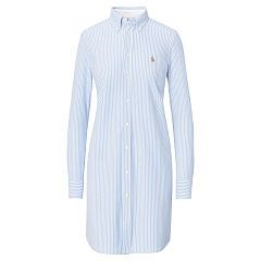 Robe-chemise Oxford en jersey rayé - Polo Ralph Lauren Midi - Ralph Lauren  France