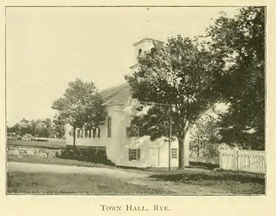 Rye Town Hall, Rye NH 1905