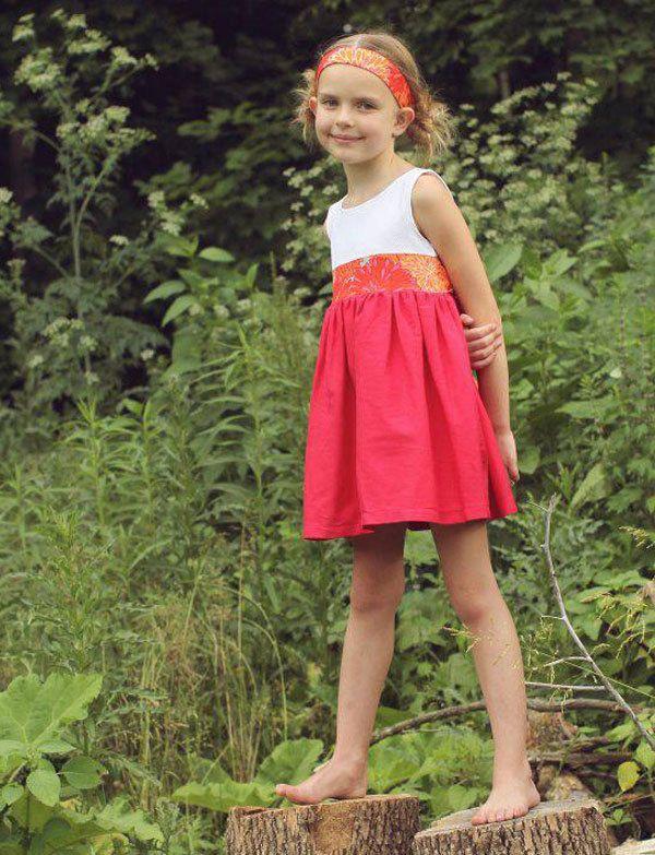 preppy red dress with bow. $45.00, via Etsy.