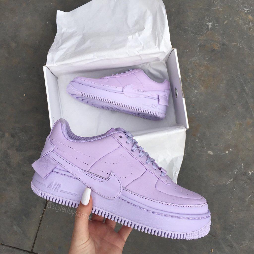save off 248de 7f111 Nike Air Force 1 Low Jester Violet Mist Womens
