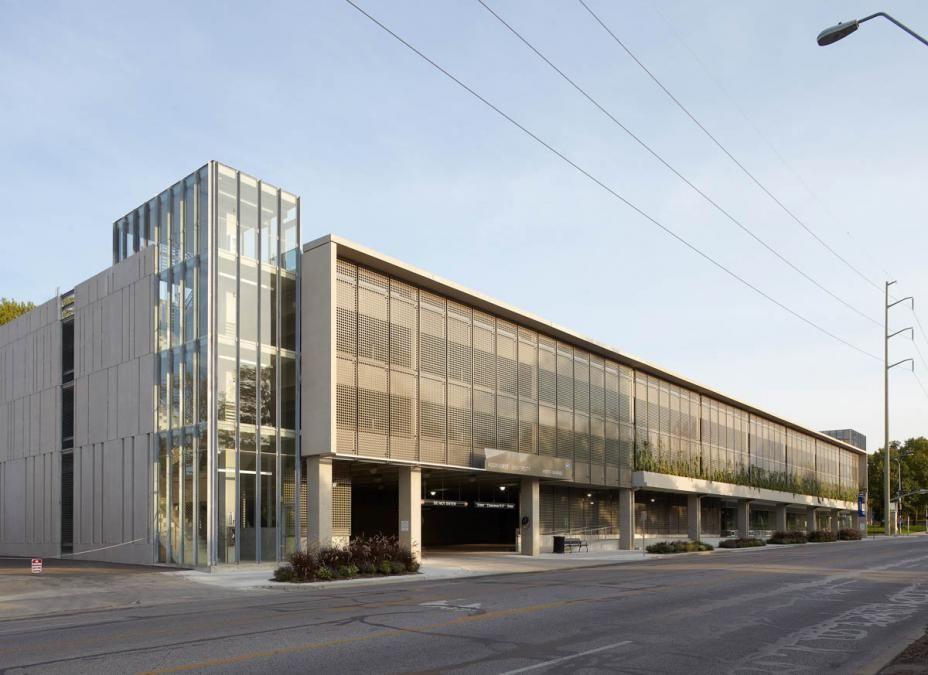 Bnim parking garage google search parking garages for Build office in garage