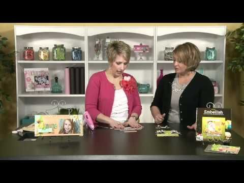 How to make paper bows-video tutorial by Heidi Swapp