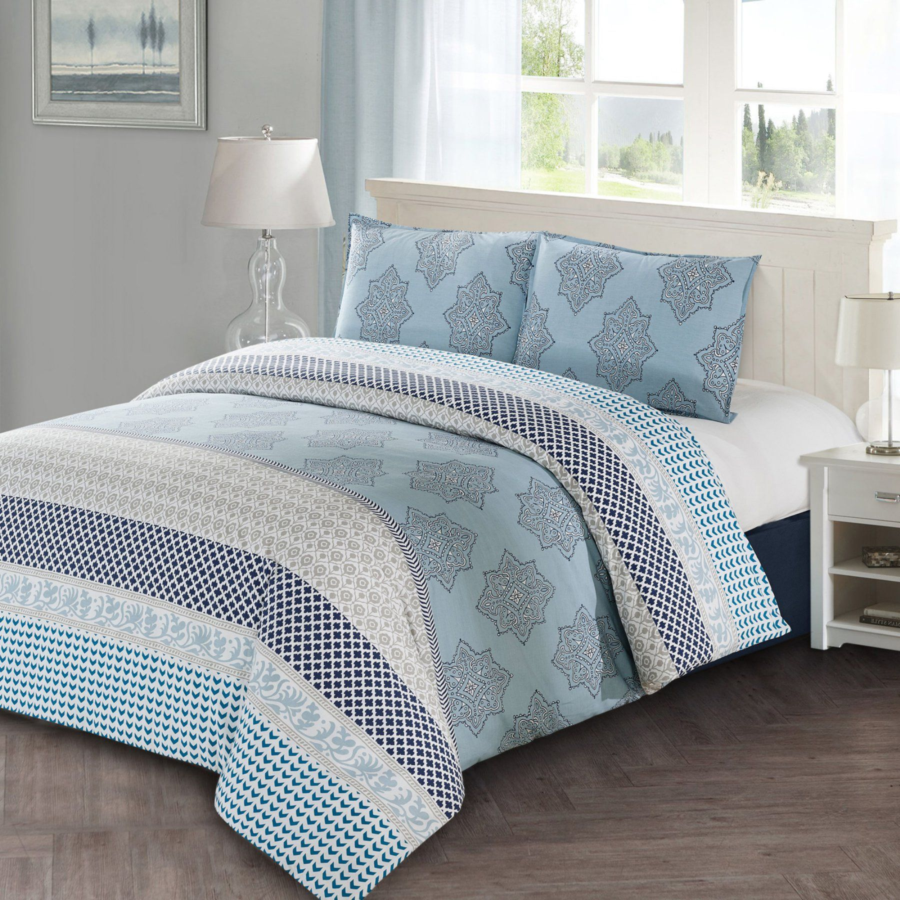 Lilou 3 Piece Duvet Cover Set By Style Quarters