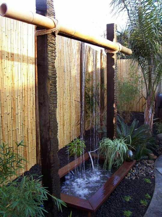 Love This Natural Free Standing Wall Sized Fountain Water