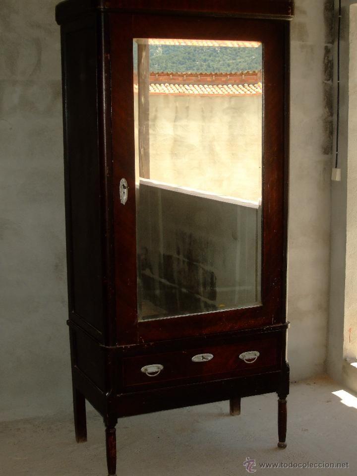 Aparador Corredor Apartamento ~ Armario ropero con espejo, 90x50x200cm, 150 u20ac DORMITORIOS Pinterest Armario ropero