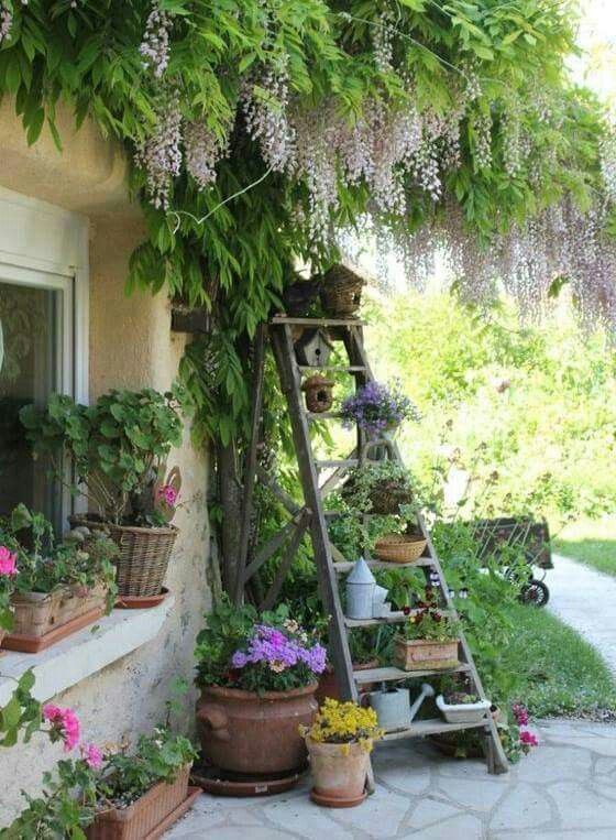 American Hippie Boh 233 Me Boho Lifestyle ☮ Patio Ladder