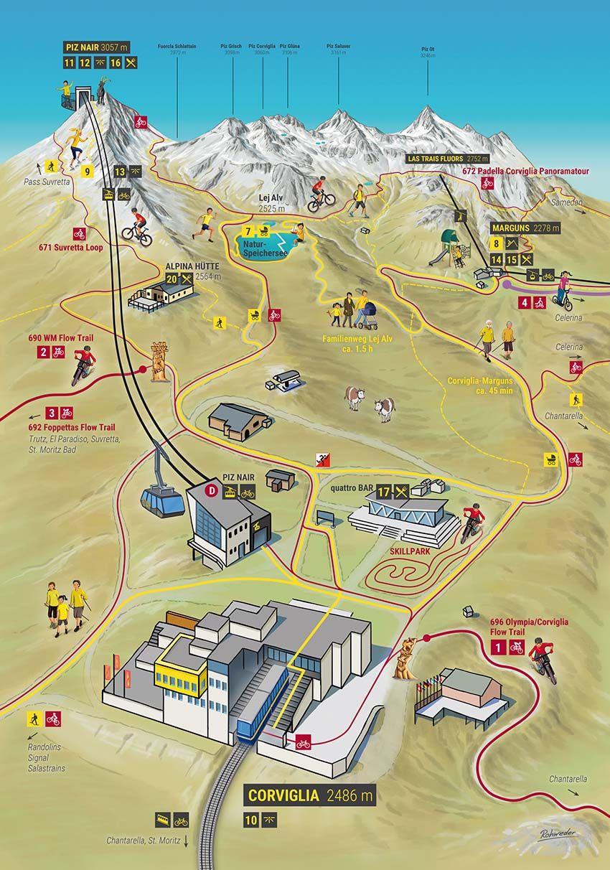 Pin Von Arne Rohweder Gmbh Auf Panoramakarten Sommer Hiking Trail