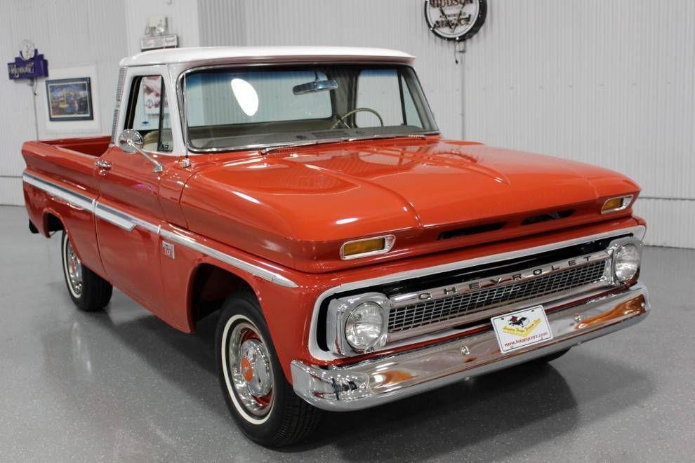 1966 Chevrolet C10 Short Bed Fleetside 1 2 Ton Custom Cab Truck