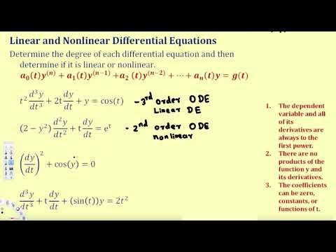 Introduction To Differential Equation Terminology Differential Equations Differential Equations Equations Equation