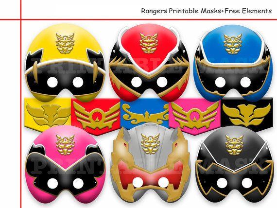 Elementos únicos de máscaras para imprimir de por AmazingPartyShop