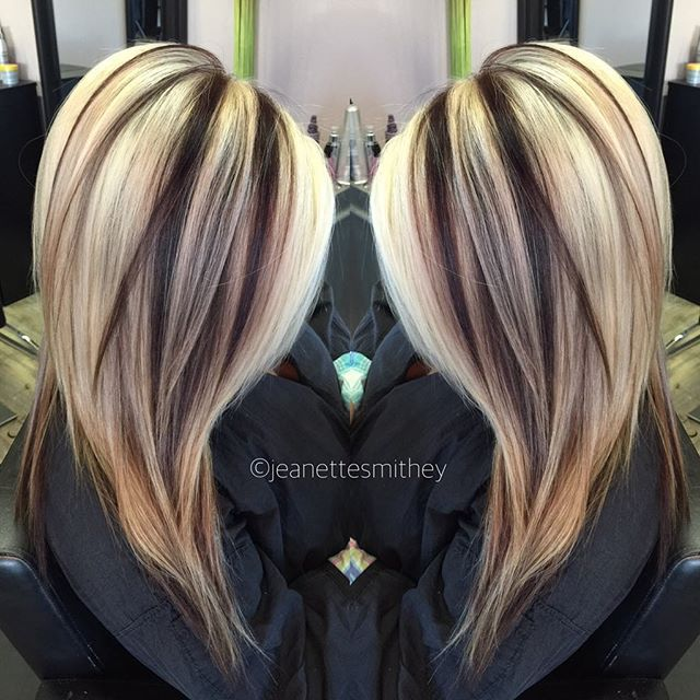Love Love This Color Combination Hairstyles Pinterest Hair