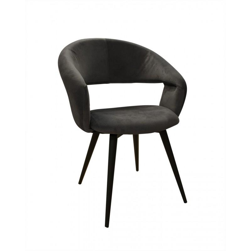 Fauteuil Design Gris Atlanta Fauteuil Design Mobilier De Salon Chaise Noire