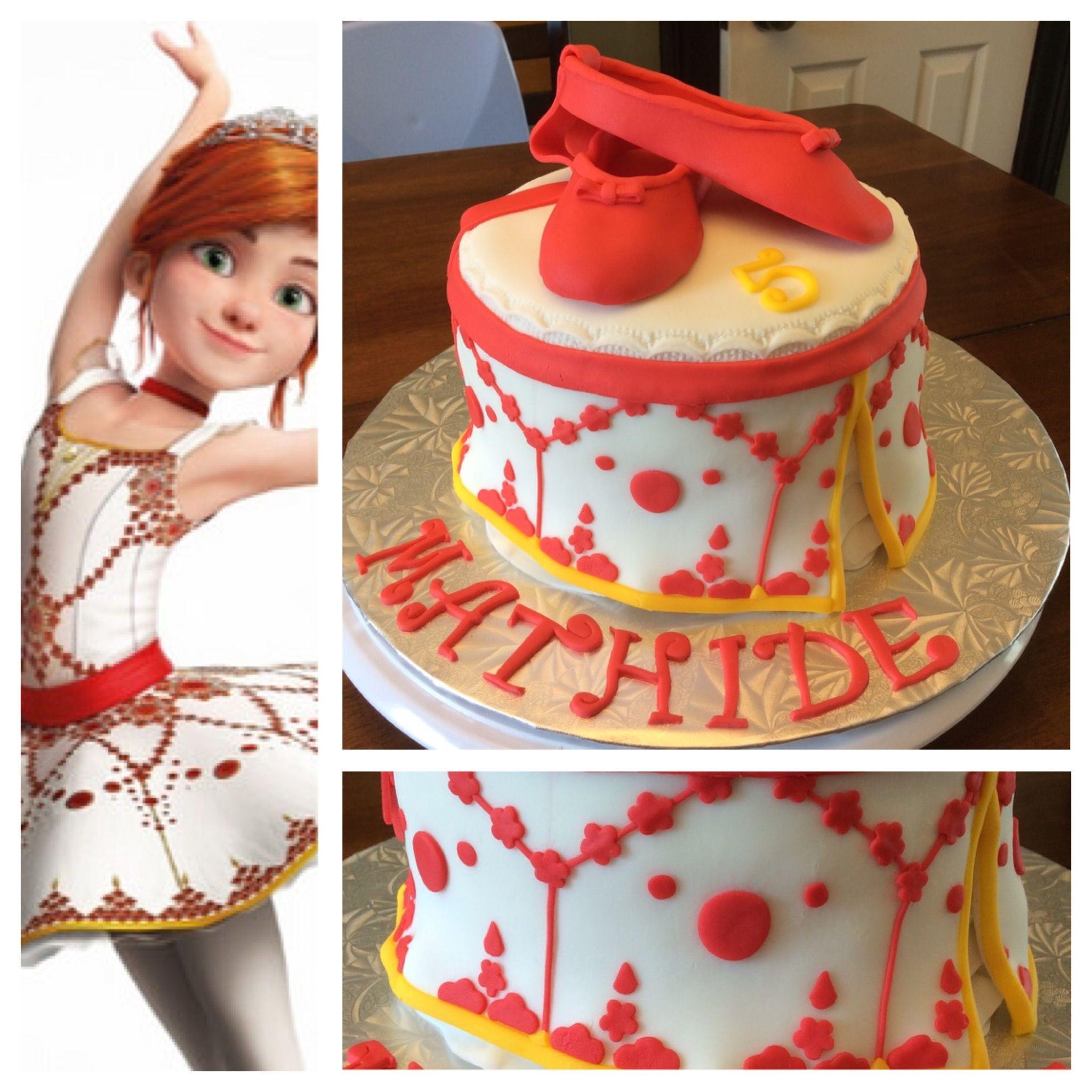 G teau ballerina le film ballet balerina cake