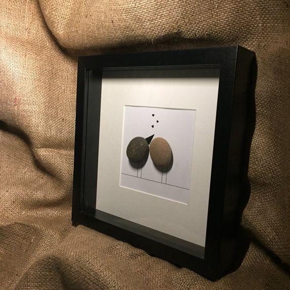 Agapornis guijarro arte por MeganMakesDesigns en Etsy | Arte de ...