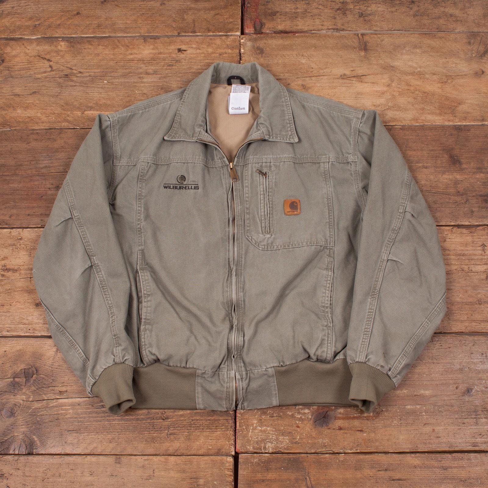 Mens Vintage Zip Up Carhartt Lined Workwear Green Jacket Size L 44 R4256 For Sale Eur 41 51 See Pho Mens Zip Up Jackets Leather Jacket Men Carhartt Jacket [ 1600 x 1600 Pixel ]
