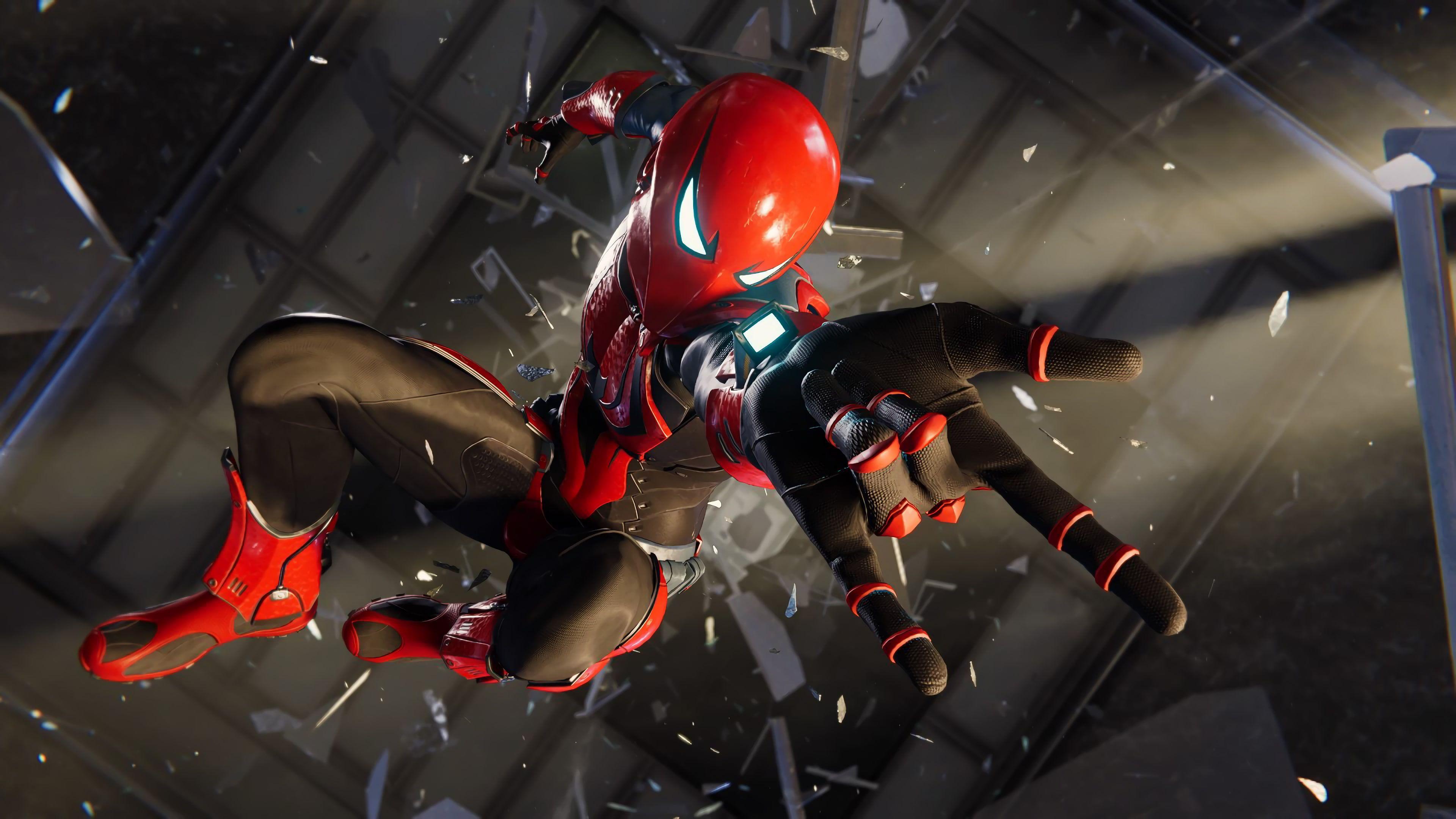 Spider Man Spider Man Ps4 4k Wallpaper Hdwallpaper Desktop Spiderman Ps4 Wallpaper Spiderman Black Spiderman