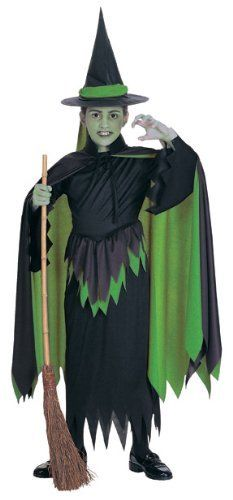 CAPE /& HAT HALLOWEEN//Wicked//Wizard of Oz WICKED WITCH OF THE WEST COSTUME