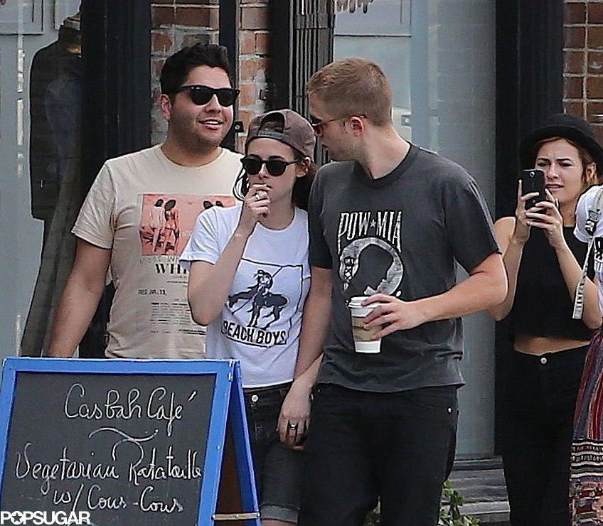 Celeb Diary: Robert Pattinson & Kristen Stewart in Los Angeles
