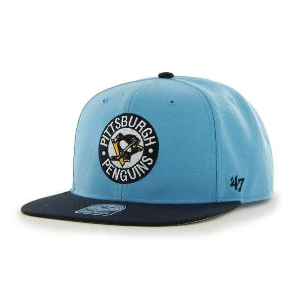 the best attitude 3a3a2 9a1dc Pittsburgh Penguins Sure Shot Two Tone Captain Columbia 47 Brand Adjustable  Hat