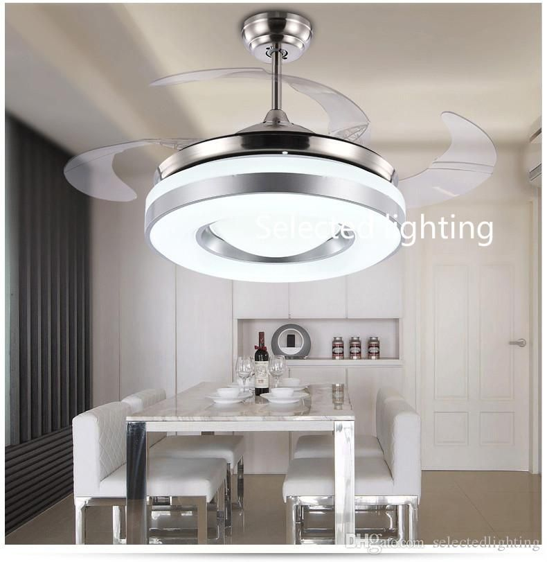 2019 dimming remote control 42inch led ceiling fans lights with changeable light 220v 110v for home decor fr fan harbor breeze 80204 replacement motor