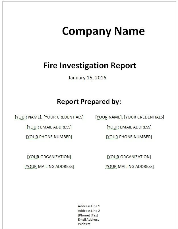 génial Fictional Report | Writing | Pinterest | Report template, Sample resume and  Resume