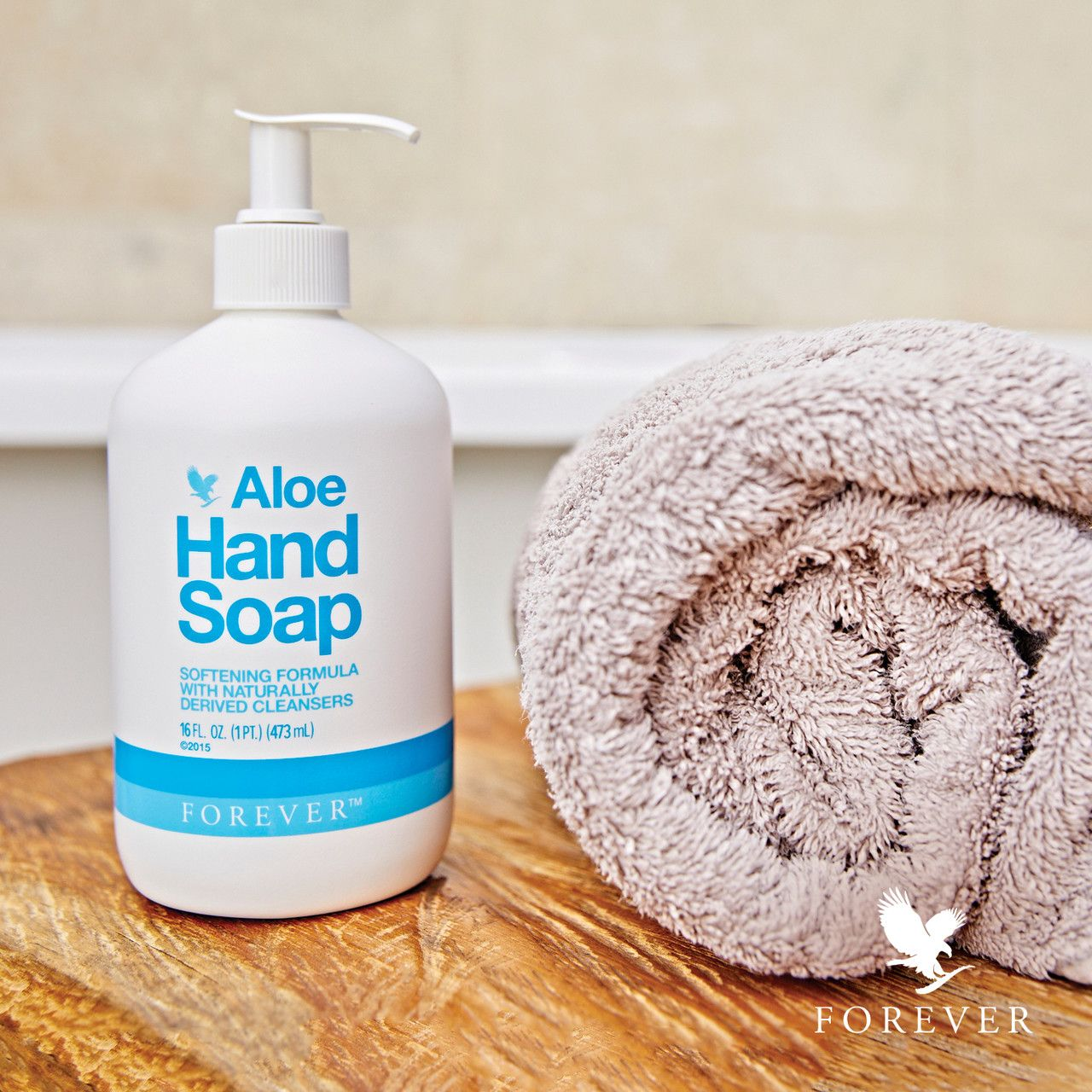 The Delicate Formula Of Forever Aloe Hand Soap Makes It
