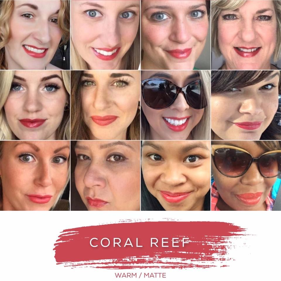 Coral Reef- Warm Tone, Matte Finish