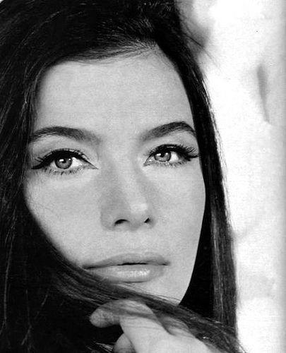 the intense gaze of Jenny Karezi - greek actress via anastasiac.blogspot.com